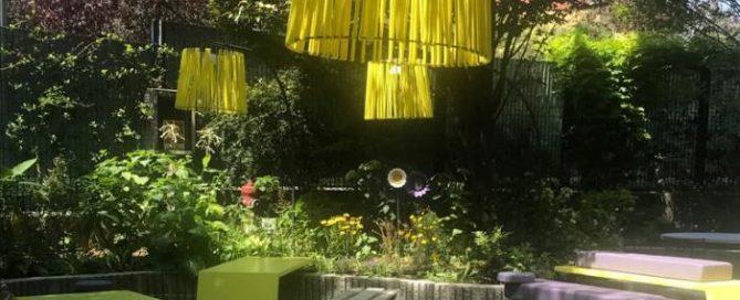 giardino esterno ristorante per bambini desio