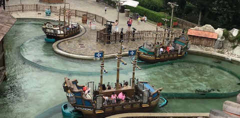nave dei pirati giostra leolandia