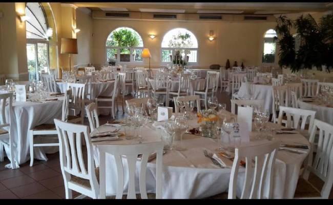 tavoli ristorante cascina bianca