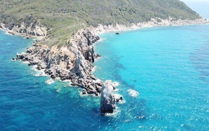 isola del giglio mare