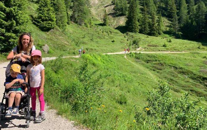 escursioni con passeggino trentino