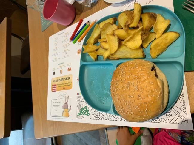 ristorante bambini hamburger