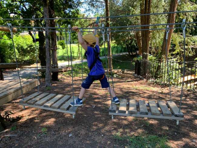parco avventura lombardia bambini