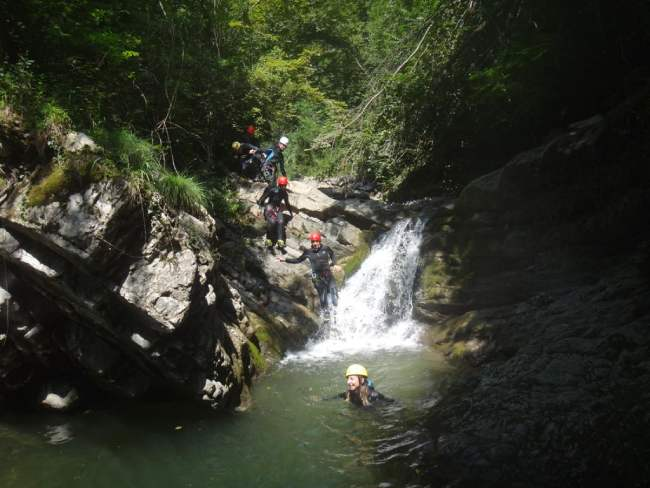 idee_regalo_18 anni_canyoning