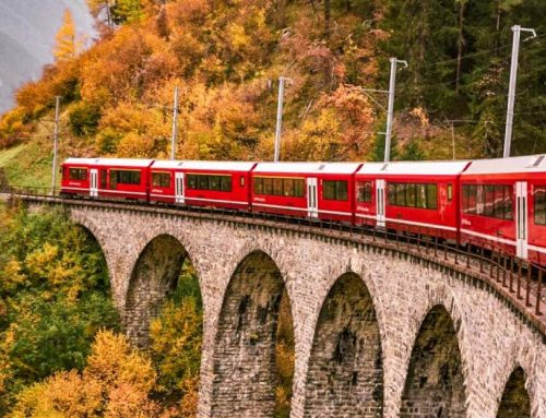 Viaggio sul Trenino Rosso del Bernina con i bambini