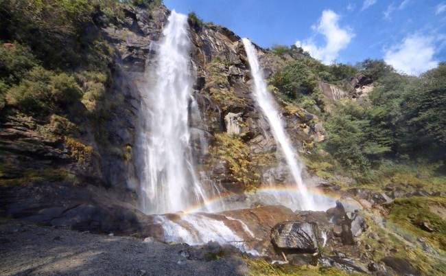 cascate dell'acquafraggia