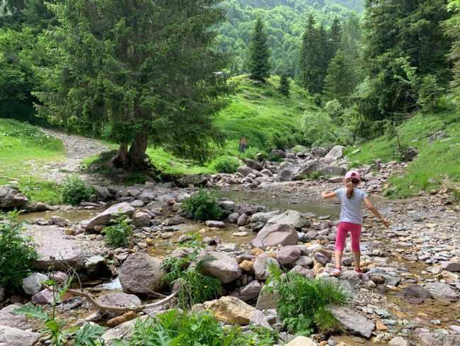 torrente del rifugio alpe corte