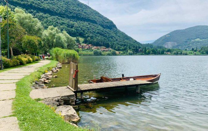 lago d'endine panorama