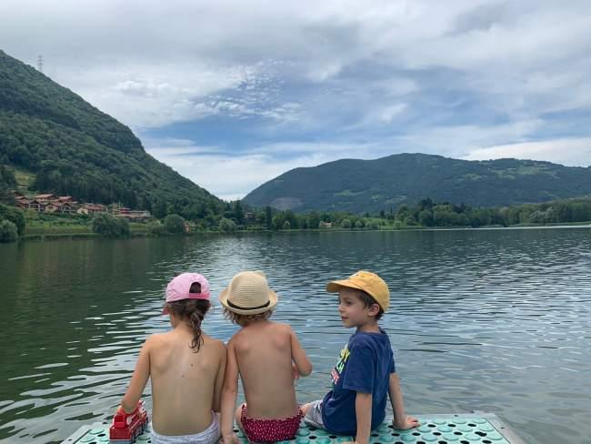 lago d'endine bambini