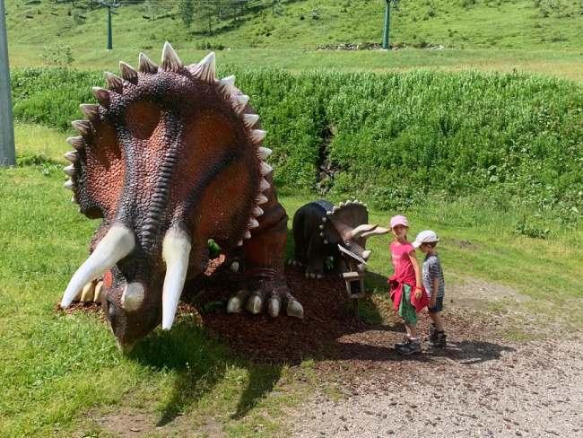 dinosauri del klausberg family park