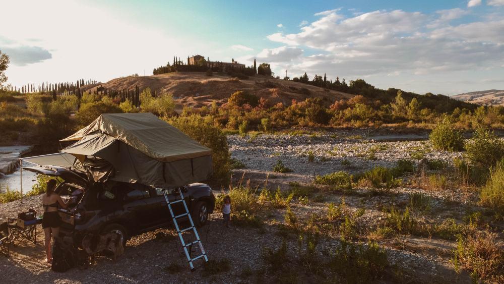 free camping in Italia