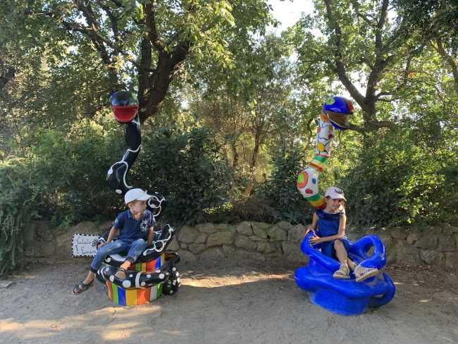 giardino dei tarocchi bambini