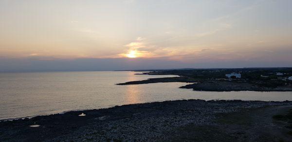 tramonto in salento